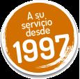 A su servicio desde 1997